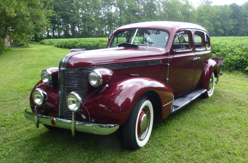 bob\u0027s 1937 pontiac 6Body Wiring Diagram For 1937 Cadillac 60 La Salle 50 Pontiac 6 And 8 Sedans Coaches #2